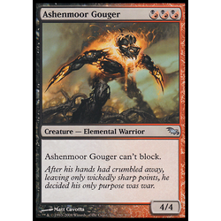 Magic löskort: Shadowmoor Ashenmoor Gouger
