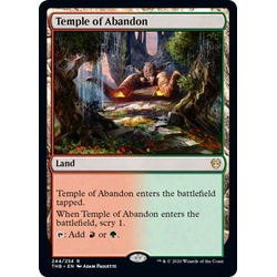Magic löskort: Theros: Beyond Death: Temple of Abandon