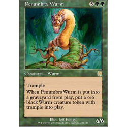 Magic löskort: Apocalypse: Penumbra Wurm