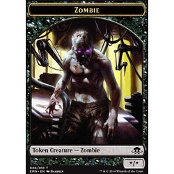Magic löskort: Eldritch Moon: Zombie Token