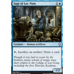 Magic löskort: Dominaria: Sage of Lat-Nam