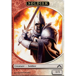 Magic löskort: Gatecrash: Soldier Token
