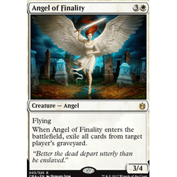 Magic löskort: Commander Anthology: Angel of Finality