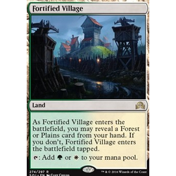 Magic löskort: Shadows over Innistrad: Fortified Village