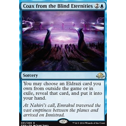 Magic löskort: Eldritch Moon: Coax from the Blind Eternities (Foil)