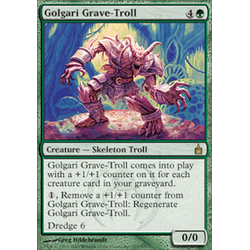 Magic Löskort: Ravnica: Golgari Grave-Troll