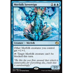 Magic löskort: Duel Decks: Merfolk vs. Goblins: Merfolk Sovereign