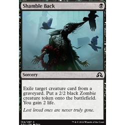 Magic löskort: Shadows over Innistrad: Shamble Back