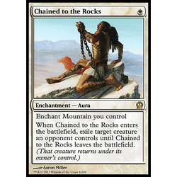 Magic löskort: Theros: Chained to the Rocks