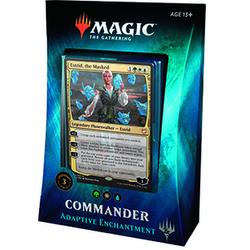 Magic The Gathering: Commander Deck 2018 - Adaptive Enchantment (franska)