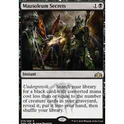 Magic löskort: Guilds of Ravnica: Mausoleum Secrets