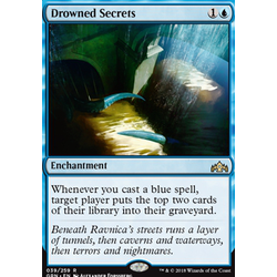 Magic löskort: Guilds of Ravnica: Drowned Secrets