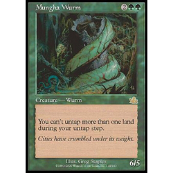 Magic löskort: Prophecy: Mungha Wurm