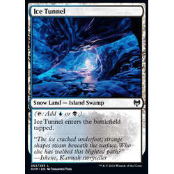 Magic löskort: Kaldheim: Ice Tunnel