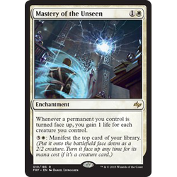 Magic löskort: Fate Reforged: Mastery of the Unseen