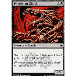 Magic löskort: Masters 25: Phyrexian Ghoul