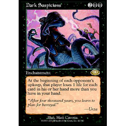 Magic löskort: Planeshift: Dark Suspicions