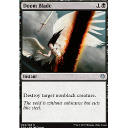 Magic löskort: Archenemy: Nicol Bolas: Doom Blade