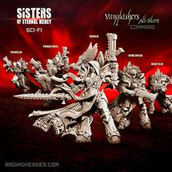Sisters of Eternal Mercy: Vanquishers All-Stars - Command