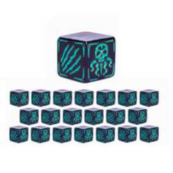 Cthulhu Wars: Battle Dice Teal (20)