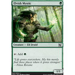 Magic löskort: Duel Decks: Elves vs Inventors: Elvish Mystic