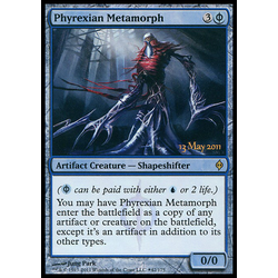 Magic löskort: New Phyrexia: Phyrexian Metamorph (Release Foil)