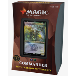 Magic The Gathering: Strixhaven Commander Deck Witherbloom Witchcraft