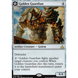 Magic löskort: Rivals of Ixalan: Golden Guardian