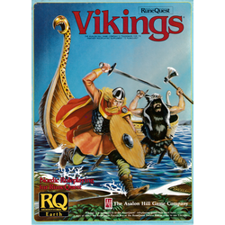 Runequest, 3d Ed: Vikings: Nordic Roleplaying for RuneQuest, Box, 1985