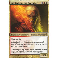 Magic löskort: New Phyrexia: Jor Kadeen, the Prevailer