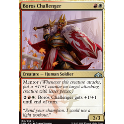 Magic löskort: Guilds of Ravnica: Boros Challenger