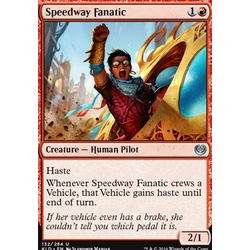 Magic löskort: Kaladesh: Speedway Fanatic