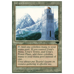 Magic löskort: Chronicles: Urza's Tower v.3