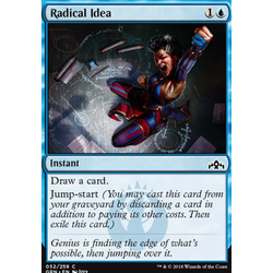 Magic löskort: Guilds of Ravnica: Radical Idea