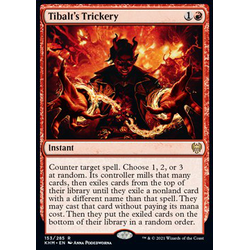 Magic löskort: Kaldheim: Tibalt's Trickery