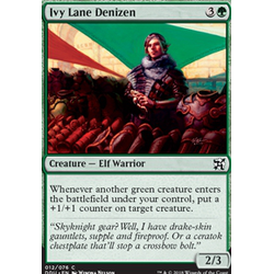 Magic löskort: Duel Decks: Elves vs Inventors: Ivy Lane Denizen