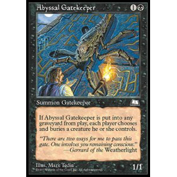 Magic löskort: Weatherlight: Abyssal Gatekeeper