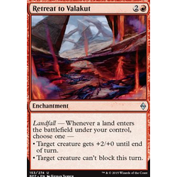 Magic löskort: Battle for Zendikar: Retreat to Valakut