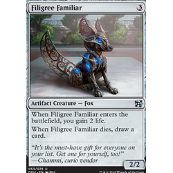Magic löskort: Duel Decks: Elves vs Inventors: Filigree Familiar