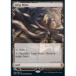 Magic löskort: Zendikar Rising Expeditions: Strip Mine