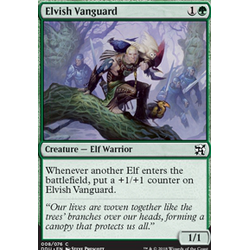 Magic löskort: Duel Decks: Elves vs Inventors: Elvish Vanguard