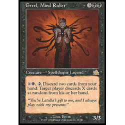 Magic löskort: Prophecy: Greel, Mind Raker