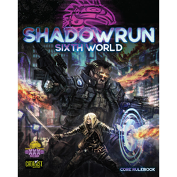 Shadowrun: 6th World Core Rulebook (standard cover)