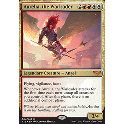 Magic löskort: Angels: Aurelia, the Warleader