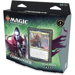Magic The Gathering: Zendikar Rising Commander Deck Sneak Attack