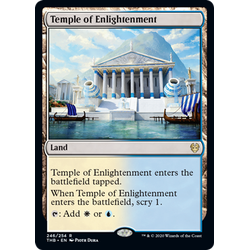 Magic löskort: Theros: Beyond Death: Temple of Enlightenment
