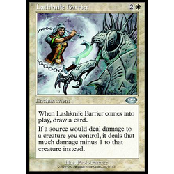 Magic löskort: Planeshift: Lashknife Barrier