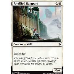 Magic löskort: Battle for Zendikar: Fortified Rampart