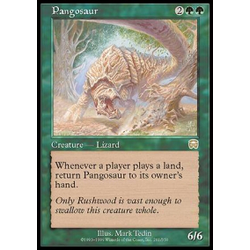 Magic löskort: Mercadian Masques: Pangosaur