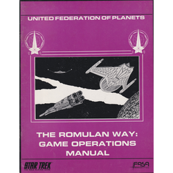 Star Trek RPG: The Romulan Way: Game Operations Manual